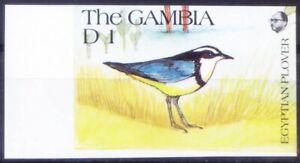 Gambia 1991 MNH Imperf, Egyptian Plover (Pluvianus aegyptius), Birds