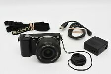 Sony Alpha a5000 Mirrorless Digital Camera with 16-50mm Lens Black