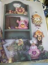 Sitter And Such Painting Book Farm Animals, Flowers, Mr & Mrs Farmer, Grandma