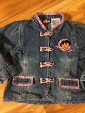 Girls 3T Nick Jr Dora Jean Jacket