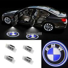 4x LED Door Step Courtesy Laser Ghost Shadow Projector Lights For BMW E53 X5 E39