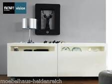 Sideboard Now by Hülsta Vision Lack weiss / Hochglanz weiss  211cm NEU