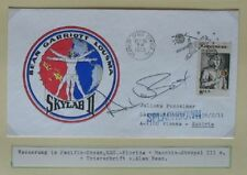 S1480) spaziale splashdown Skylab 3 cartellini KSC 25.9.1973 firma Alan Bean