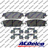 Rear Disc Brake Pad-Ceramic ACDelco Advantage Fits Cadillac Escalade ESV, EXT
