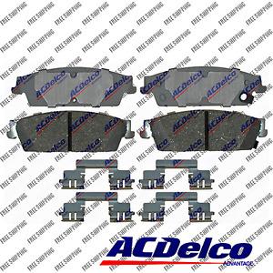 New Rear Brake Pad Ceramic ACDelco Advantage for Gmc Sierra 1500, Yukon XL 1500