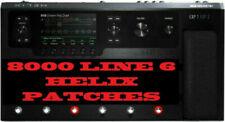 8000 PATCHES & 2 PREMIUM PACKS - LINE 6 HELIX NATIVE FLOOR & RACK SETTINGS