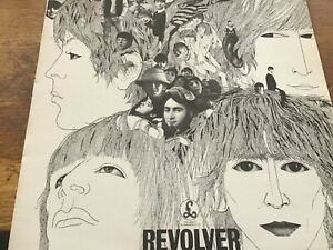 The Beatles - Revolver - Parlophone Records Re-issue EX/NR MINT remastered