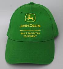 """JOHN DEERE"" ""MAPLE MOUNTAIN EQUIPMENT"" One Size Fits All Snapback Baseball Cap"
