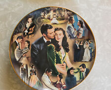 "Gone With The Wind Large Plate ""A Story of Romance"" Second issue"
