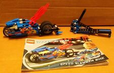 LEGO 8646 * SPEED SLAMMER BIKE MOTORCYCLE * POWER RACERS * COMPLETE w INST.