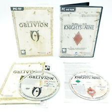 The Elder Scrolls IV Oblivion + Knights of the Nine - Jeu PC + Extension - PAL