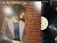 Carly Simon – Come Upstairs LP 1980 Warner Bros. Records – BSK 3443 VG+/EX