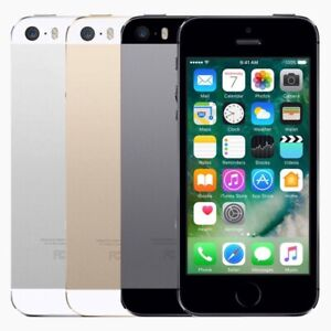 New Condition Apple iPhone 5s 16GB Factory Unlocked 4G LTE Smartphone