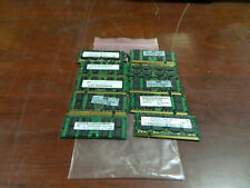 Lot of 10 Mixed Brands & Speeds DDR2 SODIMM 2GB Laptop Memory
