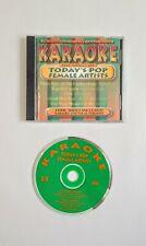 Karaoke CD SONGS OF TODAY'S POP FEMALE ARTISTS J Jackson/A Morissette/Jewel BCI