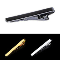 Personalised Tie Pin Bar Clip Engraved Clasp Mens Wedding Birthday Favor Gift UK