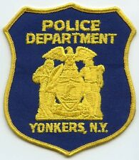 1970's Yonkers, New York Police Department Patch
