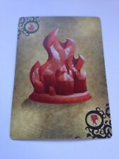 Crystal Of Fire Spare / Replacement Card For Gamewright Forbidden Island Game