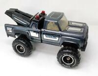 "Vintage 1970s Pressed Steel Tonka Tow Truck Wrecker 11062 MR-970 16"""