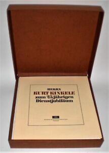 25 LP-Box mit Beatles Polydor/Deutsche Grammophon Jubiläumsbox Kurt Kinkele MINT