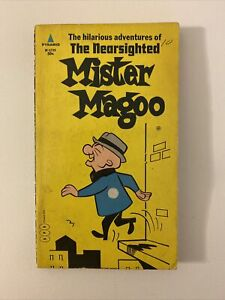 THE HILARIOUS ADVENTURES OF THE NEARSIGHTED MISTER MAGOO DIGEST BOOK 1967 1ST!