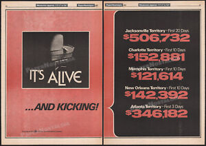 IT'S ALIVE__Orig. 1977 Trade print AD / poster__LARRY COHEN__JOHN P. RYAN_horror