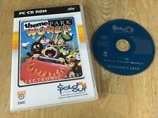 Theme Park World, Sim Theme Park PC CD ROM Game, VGC, Inc Free Post