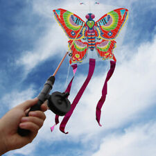 Outdoor Kites Butterfly Flying Kite  Children Kids Fun Sports Toy Be  DMF