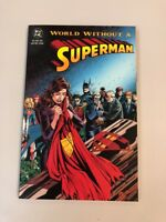 World Without Superman Tpb Paperback NM Brand New Never Read DC comics