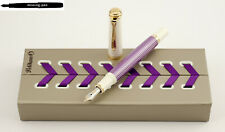NEW Pelikan Fountain Pen M600 Violet White Special Edition 2019 14K F, M or B