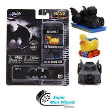 """Jada Nano Hollywood Rides - Multipack Batman Batmobile 3-Pack - 1.65"""""""