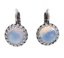 SoHo® Ohrhänger Ohrringe bohemia Glas sabrina blue opal handgemachte Glassteine