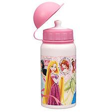 Genuine Disney Princess Aluminum Water Bottle Small for Kids Rapunzel Tiana