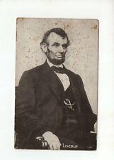Vintage Post Card - 1907 - Abraham Lincoln