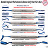 BLUE TITANIUM IMPLANT PERIOTOMES BONE GRAFT CARRIER PACKERS DENTAL By MEDENTRA®