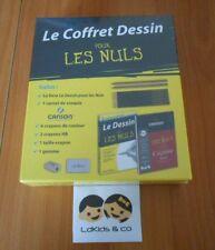 LE COFFRET DESSIN POUR LES NULS (pour débuter et se perfectionner) Canson FIRST