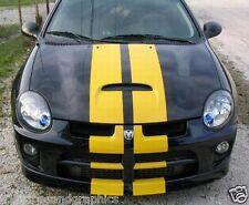 "All Year DODGE NEON Soul 9"" PLAIN Rally stripe Stripes Graphics Decals SRT4 SXT"