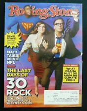 Rolling Stone Issue 1175 Jan 31, 2013 - 30 Rock last days - David Bowie