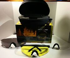 Rothco Fire Tec Police SWAT Interchangeable 3 Color Sport Glass Goggles System