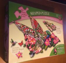 Masterpieces 1000 Piece Shaped Puzzle Hummingbird Haven (See Description)