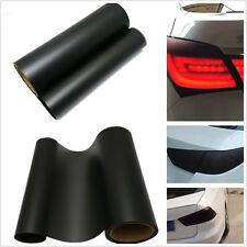 100cm*30cm Matte Black Car Taillight Protection Vinyl Film Decal For Honda Civic