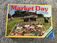 Market Day Ravensburger Vintage Board Game 1984 100% Complete With Instructions