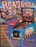 Road Show Pinball Flyer 1994 Original NOS Williams Game Artwork Roadshow Red Ted