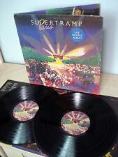 Supertramp Paris + Inners A1 B1 C1 D1 UK 2 x LP A&M AMLM 66702 1980 EX/VG+/EX
