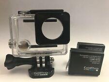 GoPro HERO 4/3/3+  Waterproof Housing + HERO4 Battery x 2 - 100% Genuine