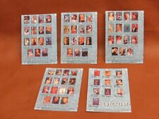 Marilyn Monroe Complete Checklist Chase Card Set Pinup 1993 1-C 2-C 3-C 4-C 5-C