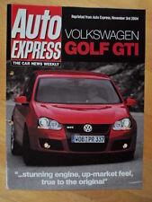 VOLKSWAGEN GOLF GTI orig 2004 UK Mkt Road Test Brochure - VW
