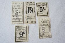 More details for london midland and southern region railway newspaper parcel letter stamp x5