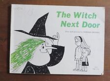 Vintage Scholastic THE WITCH NEXT DOOR Halloween Bridwell Clifford book