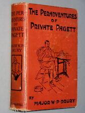 ARTHUR RACKHAM Illustrations Peradventures of Private Pagett - W P. Drury (1910)